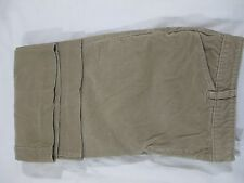 Jones Wear Sport Stretch Boot Cut Lightweight Corduroy Pant Women 14 Light Brown
