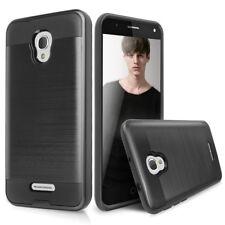For HTC Bolt/10 evo Slim Brushed Hybrid Armor Shockproof Rubber Case Cover