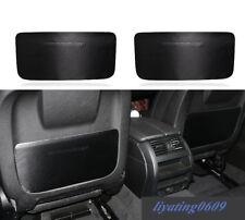 Carbon Fiber Seat Anti Kick Pad Protective Trim For BMW F10 5 Series 2011-2017