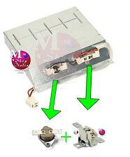 Kit 2 termostati per riparazione resistenza asciugatrice Candy Hoover