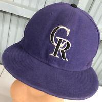 Colorado Rockies MLB 7 3/8 New Era Fitted Logo Baseball Cap Hat