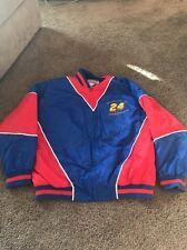 Vintage Nutmeg Jeff Gordon Jacket 1995 Winston Cup Champion XL NASCAR Racing