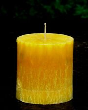 70hr FRESH GINGER Scent OVAL CANDLE Cold & Flu, Nausea & Morning Sickness Relief