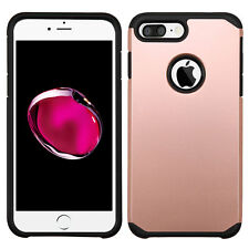 HYBRID TPU CASE ROSE GOLD CASE for IPHONE 6 PLUS 7 PLUS USA SELLER