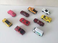 Bundle Set Pack Of 8 Vintage 1970's Maisto Cars. Inc Lamborghini, Ferrari & More