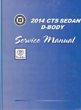 2014 Cadillac Cts Sedan Vin-A Service Repair WorkShop Manual-5 Vol Set Gmp14Cts(Fits: Cadillac)
