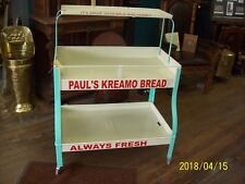Advertising display PAULS KREAMO BREAD Always Fresh Its Made with Milk and Honey