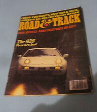 1978 ROAD & TRACK VOL.29 #8THE 928 PORSHE'S BEST CORVETTE L82 &HONDA ACCORD LX