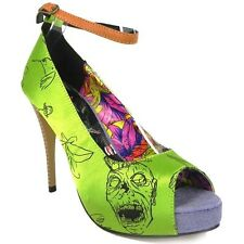 Iron Fist Zombetini Peep Toe Shoe