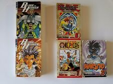 Random Manga Lot Blade of Heaven 2, 4 - One Piece 1 - Yu-Gi-Oh! Duelist - Naruto
