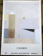 Mauro entrichtete Galleria multigraphic Venezia Vintage 1983 Limited Edition Poster
