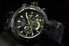 Invicta Men's 48mm Subaqua Antique Black Quartz Chronograph Bracelet Watch