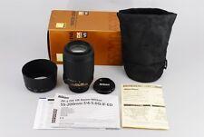 Nikon Af-S Nikkor Dx 55-200mm 4-5.6G Ed Vr Mint Condition From Japan #0074