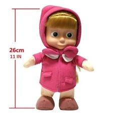 Masha Doll 11 IN/ 23 CM, from Masha and Bear tv character