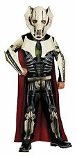 NEW Star Wars General Grievous Costume With Mask Size Small For Kids By Rubie's