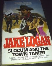 Slocum: Slocum and the Town Tamer Vol. 140 by Jake Logan (1990, Paperback)