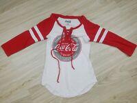 Coca Cola Womens Size Small Graphic Shirt