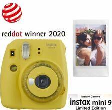 Fujifilm Instax Mini 9 gelb Sofortbildkameras & Instaxkameras