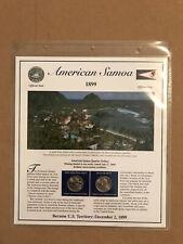 2009 American Samoa PCS Statehood P&D Quarter Collection Sheet