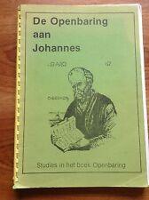 De Openbaring aan Johannes. 'Stichting het Morgenrood', 1981