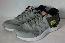 Mens 9 Grey Memory Foam Tennis Running Athletic Shoes Sneakers NWT