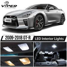 White LED Interior Lights Package Kit for 2009-2018 Nissan GTR GT-R