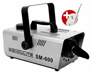 DJ PA Schnee Maschine Snow Disco Effekt Schaum Kanone Fernbedienung 600W