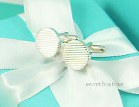 AUTHENTIC Tiffany & Co. Sterling Silver Round Cufflinks (#946)