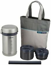 Zojirushi ZOJIRUSHI thermal insulation lunch box stainless steel lunch jar NEW
