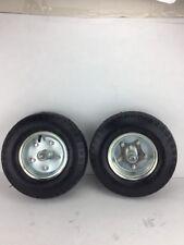 "4.10/3.50-6 Utility Wheel Tire on  A Rim 1/2"" Axle set of 2pcs"