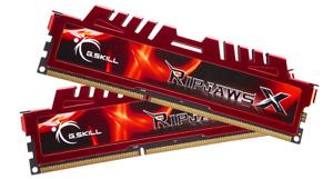 G.Skill Ripjaws-X DDR3 8 GB: 2 x 4 GB DIMM 240-pin 1333 MHz / F3-10666CL9D-8GBXL