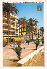 Spain Puerto de Mazarron Paseo Maritimo Promenade Maritime
