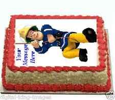 Fireman Sam Cake topper edible image icing birthday FONDANT A4
