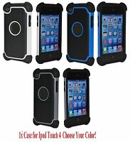Premium Deluxe Hard Case Cover skin for Ipod Touch 4 4G 4th gen A1367 Protector