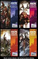 Siege: Embedded 1 2 3 4 Complete Set Run Lot 1-4 VF/NM