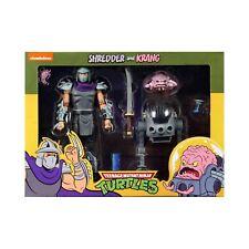 Tmnt Teenage Mutant Ninja Turtles Neca Shredder vs Krang in Bubble Walker 2 Pack
