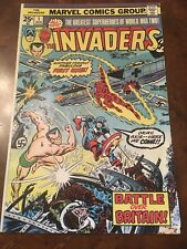 Marvel The Invaders #1 comic book bronze age