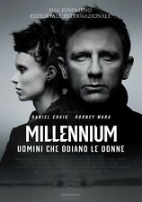 POSTER THE GIRL WITH THE DRAGON TATTOO DAVID FINCHER MILLENIUM DANIEL CRAIG #4