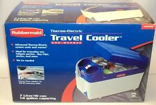 New listing Rubbermaid Thermo Electric Car Travel Cooler & Warmer 12V Vec206Rb Used Once