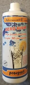 Prosport Getränkekonzentrate Zero Sugar 1L MHD-nahe oder bereits abgelaufen