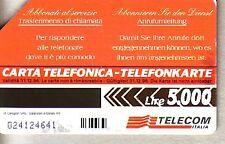 Telefonkarte Italien starke Gebrauchsspuren (intern: 2282 )