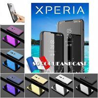 Etui Housse coque SMART View Mirror Case Cover pour Sony XPERIA XZ3 - Film