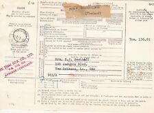 Thailand, Bangkok, 1963, Parcel Form, to USA