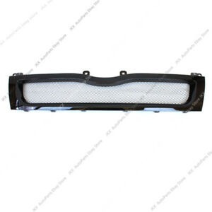 1pc Black Electroplate Honeycomb Front Grill k For Toyota Hiace 200 Series 10-13