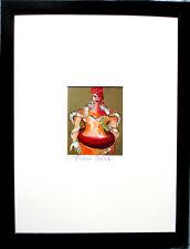 ELVIRA BACH >o.T. 1992< HAND-SIGNIERT, Multiple mit Rahmen, orig.signed