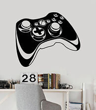 Vinyl Wall Decal Joystick Video Games Gift for Teen Gaming Stickers (ig4000)