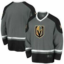 NEW!!! Men's Fanatics Branded Gray/Black Vegas Golden Knights Blue Line Long, M