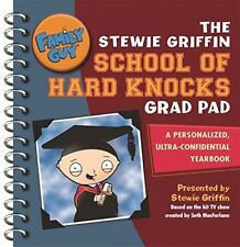 New, Family Guy: The Stewie Griffin School Of Hard Knocks Grad Pad, Steve Callag