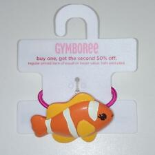 New Gymboree Girls Floral Reef Tropical Fish Pony Holder Hair Accessory