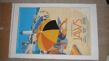 Jaws Mondo Screen Print Poster Laurent Durieux SOLD OUT RARE run of 525